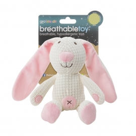 Gro - Jucarie Breathable Toy Gro Friends, Iepurasul Boppy