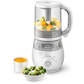 Philips AVENT - SCF875/02 Robot de bucatarie 4-in-1 Steamer si blender