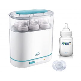 Philips Avent - SCF284/03 Sterilizator electric cu aburi 3-in-1