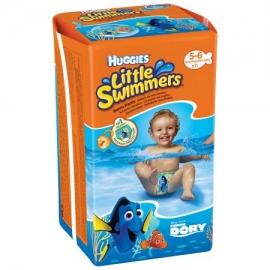 Huggies - Scutece-chilotel pentru apa Little Swimmers marimea 5-6, 12-18 Kg, 11 buc