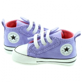 Converse - Tenisi All Star Crib Trainers, First Star Easy Slip, Lavender