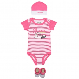 Converse - Set 3 piese All Star Infant Gift, Mod Pink