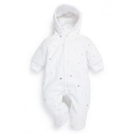 Next - Salopeta bebelusi Fleece Silver Stars