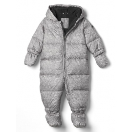 GAP - Combinezon cu puf Puffer Down Fill, Grey