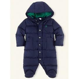 Ralph Lauren - Baby Down Bunting Snowsuit, Navy