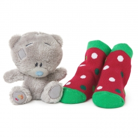 Me to You - Set cadou 1st Christmas: Ursulet Tatty Teddy si Botosei