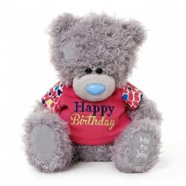 """Me to You - Ursulet Tatty Teddy Happy Birthday Shirt, Medium, 8"""""""