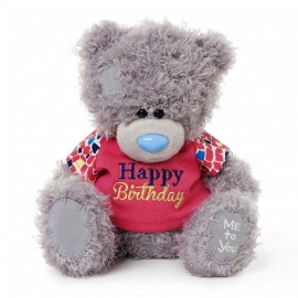 Me to You - Ursulet Tatty Teddy Happy Birthday Shirt, Medium, 8""