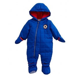 Converse - Combinezon All Star Infant Suit, Albastru