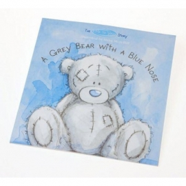 Me to You - Carte ilustrata The Me to You Story, A Grey Bear with a Blue Nose