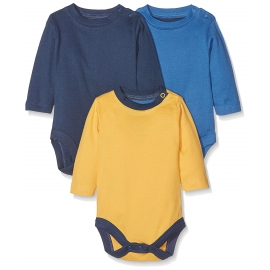 Mothercare - Set Body cu maneca lunga Multicolor Farmer, 3 buc