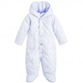 Ralph Lauren - Baby Barn Bunting Snowsuit, Light Blue