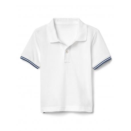 GAP - Tricou baieti Polo, Alb