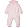 Tommy Hilfiger - Combinezon iarna Baby Skisuit, Light Pink