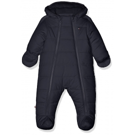 Tommy Hilfiger - combinezon iarna bebelusi Baby Skisuit, Navy
