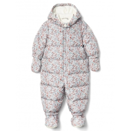 GAP - Combinezon cu puf Warmest Down Fill, Flowers