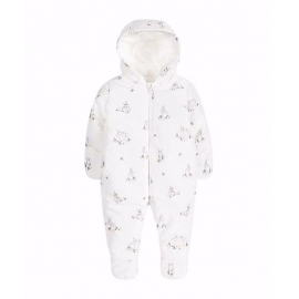 Mothercare - Combinezon Matlasat Little Bunnies