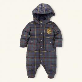 Ralph Lauren - Baby Down Bunting Snowsuit, Tartan
