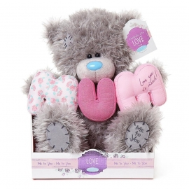 Me to You - Ursulet Tatty Teddy Mum Letters, Medium, 9""