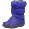 crocs - Cizme de zapada, Winter Puff Boot, Blue
