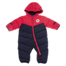 Converse - Combinezon All Star Infant Snowsuit Duo Red/Navy