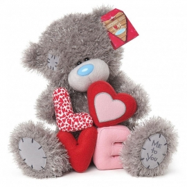 Me to You - Ursulet Tatty Teddy Love Letters, Medium, 10""