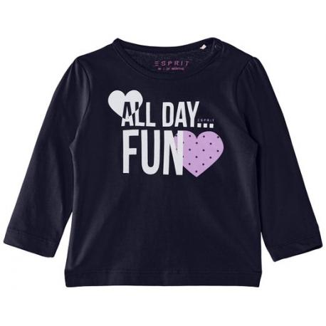 Esprit - Bluza fetite cu maneca lunga All Day Fun