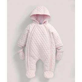 Mamas&Papas - Salopeta zapada Quilted Pink