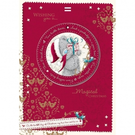 Me to You - Felicitare Christmass, include Decoratiune pentru Brad