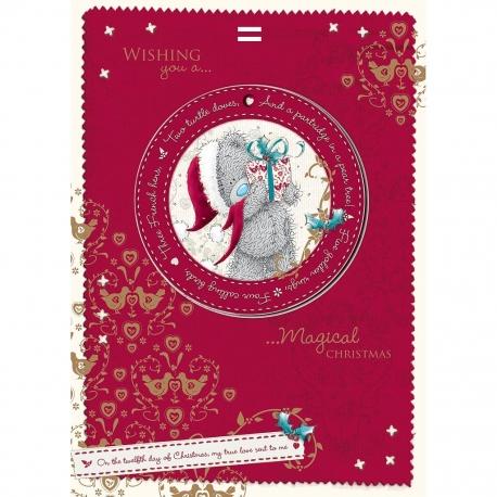 Me to You - Felicitare Christmass, include Decoratiune pentru Brad