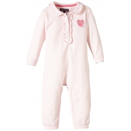 Tommy Hilfiger - NYC Baby Girls Badge Polo Bodysuit