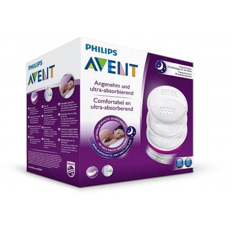 Philips Avent - Tampoane de Unica Folosinta Pentru San , 30 buc