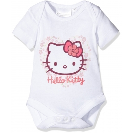 Twins - Body cu maneca scurta Hello Kitty