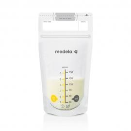 Medela - Pungi Pump&Save pentru Colectare Lapte Matern, 25 buc