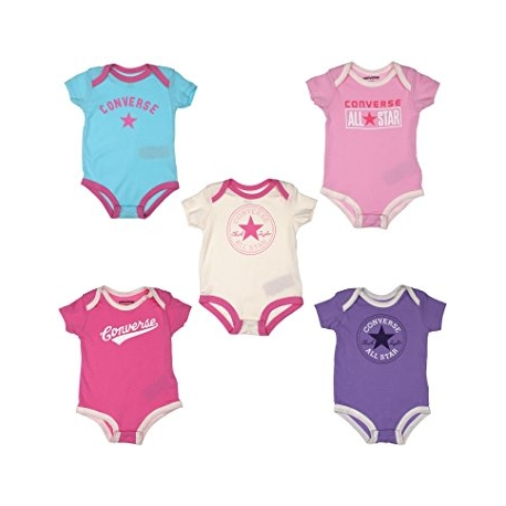 Converse - All Star Infant Set 5 Body GiftPack, Pink