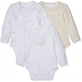 Mothercare - Set Body cu maneca lunga Little Lamb, 3 buc