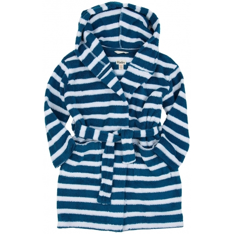 Hatley - Halat baie copii, Cozy Nautical Striped