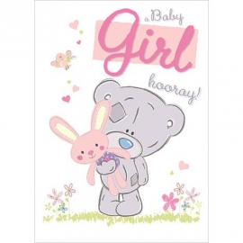 Me to You - Felicitare A Baby Girl