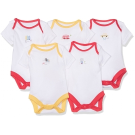 Mothercare - Set Body cu maneca scurta Around the World, 5 buc