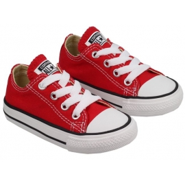 Converse - Tenisi Copii All Star Infant Trainers, Low Top, Red