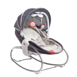Tiny Love - Sezlong 3 in 1 Rocker Napper Cozy, Gri