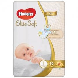 Huggies- Scutece Elite Soft 1, 2-5 kg, 50 buc