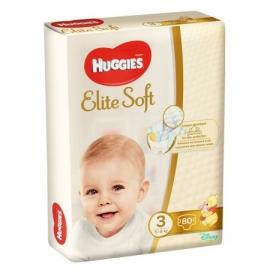 Huggies - Scutece Elite Soft 3, 5–9 kg, 80 buc
