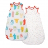Gro - Grobag Spotty Bear Twin Pack, 2.5 TOG
