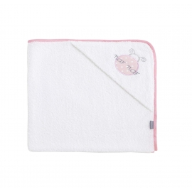 NAF NAF - Prosop baie cu gluga, Ladybird Pink