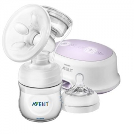 Philips AVENT - Pompa de san electrica Ultra Comfort cu biberon SCF332/31