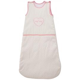 NAF NAF - Sac de dormit Heart Pink, 2.5 TOG