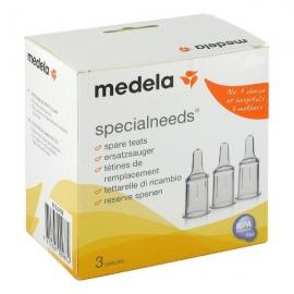 Medela - Set tetine pentru nevoi speciale Medela Specialneeds, 3 buc