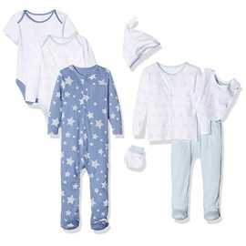 Mothercare - Set cadou 8 piese, Blue Stars