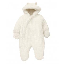 Resigilat Mothercare - Combinezon Fluffy Snowsuit, White